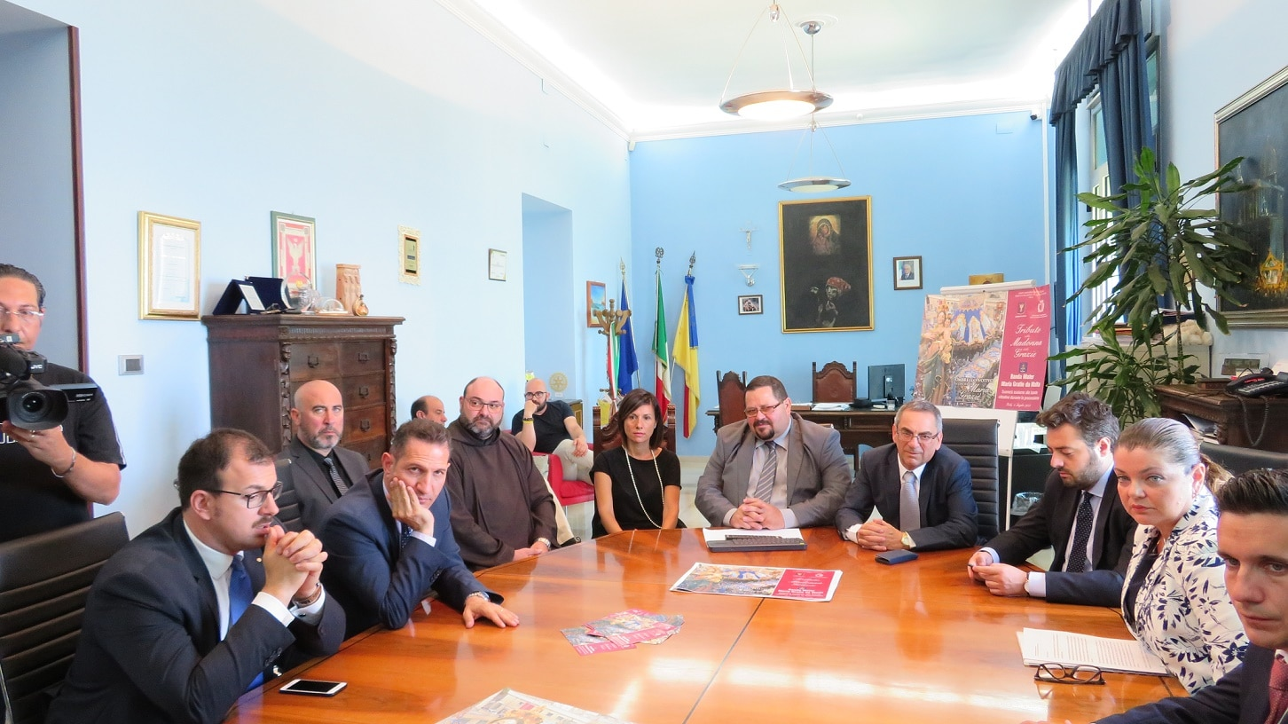 Minister Joe Mizzi visits Gela in Sicily