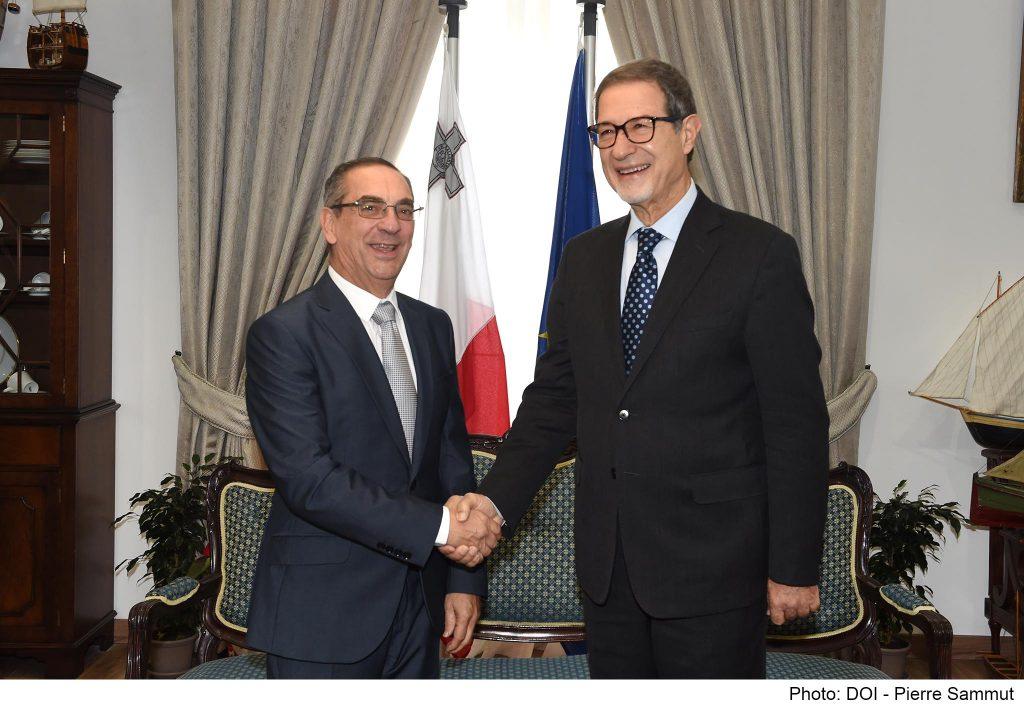 Musumeci Malta visit