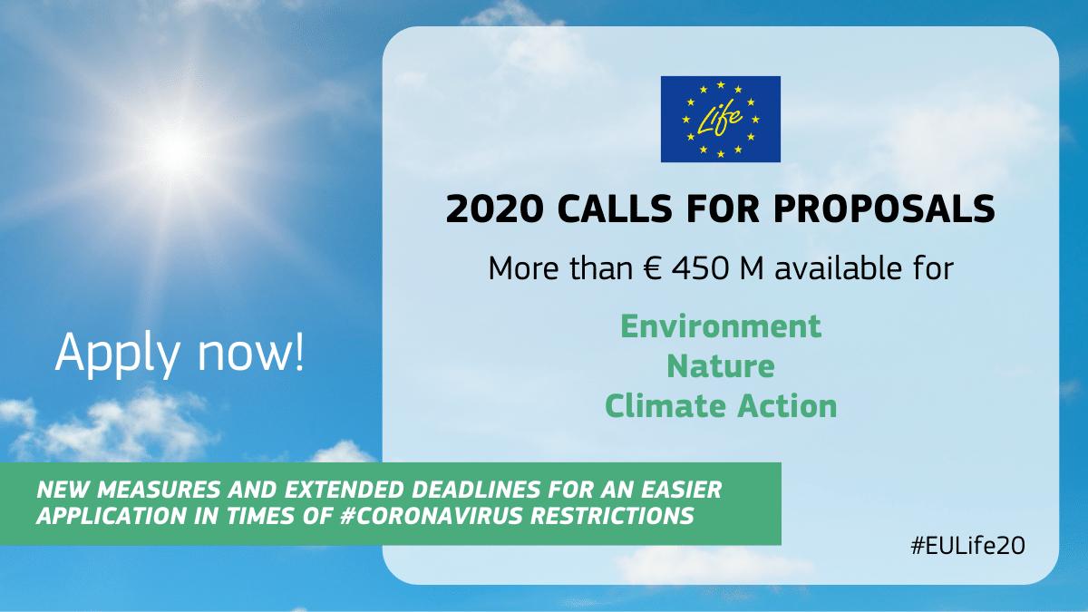 EU LIFE 2020 call